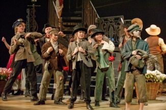 Sam Verlinden in the stage play of Oliver