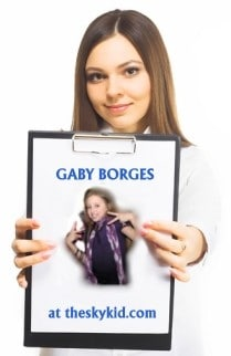 Gaby Borges at theskykid.com