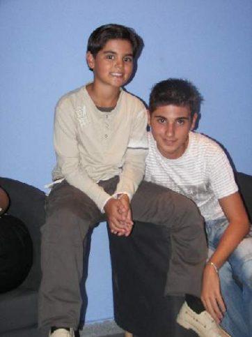 Abraham and Tony Mateo