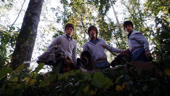Uriah Shelton,Jimmy Bennett and Gabriel Basso in Alabama Moon