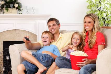 Family-watching-a-coming-of-age-move