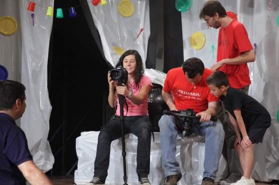 On shoot of Primaria