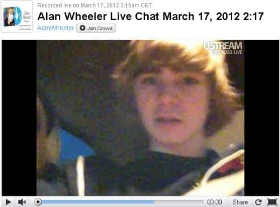 alan wheeler ustream