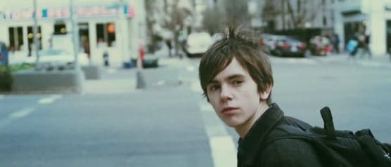 Freddie Highmore as George in The Art of Getting By