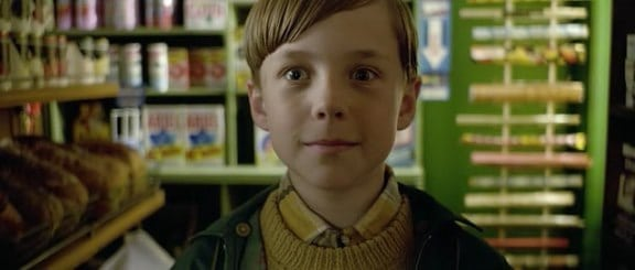Oscar Kennedy as the younger Nigel Slater in the BBC film Toast 2010
