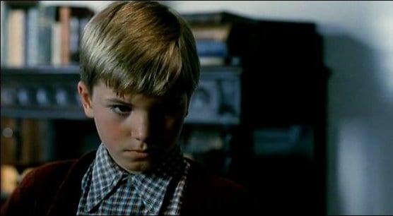 Gero Preen as the young Bertram in Die Reise 1986