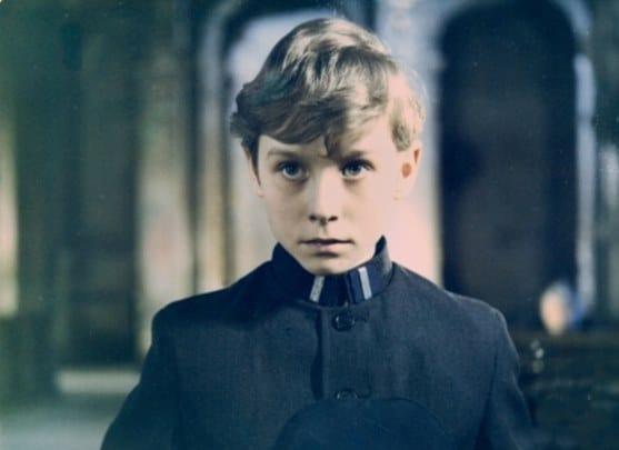Tomasz Hudziec as the young Mikolaj in the 1972 Polish film Zmory