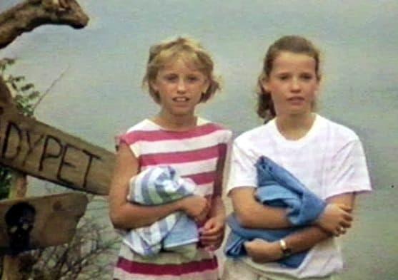 Camilla Sletten and Siri Hoff in Sommerjubel (1986)