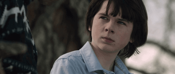 Chandler Riggs as George in Mercy