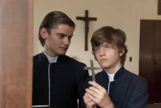 Sebastian Aguirre in the Mexican movie Perfect Obedience