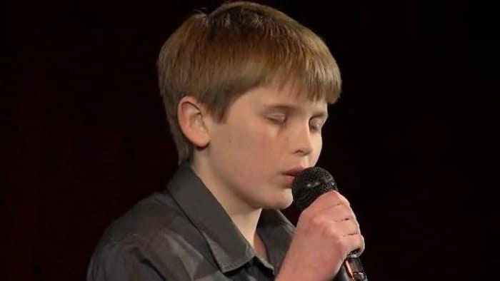 John Robert Rimel sings