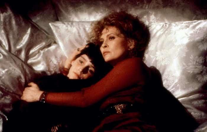 BURNING SECRET, David Eberts, Faye Dunaway, 1988, (c)Vestron Pictures