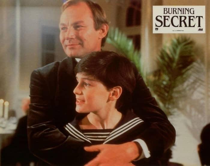 Burning Secret, French Movie Poster