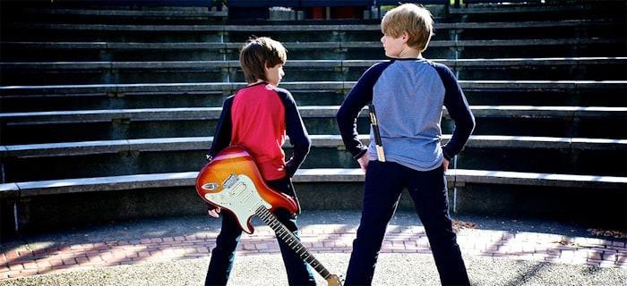 The Fandino twins Jacob and Nolan