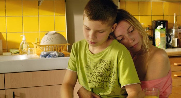 Jimmy (Alexi Mathieu) and his mother