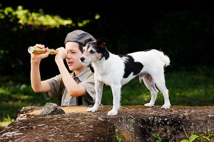 Fernando (Lino Facioli) and his faithful dog