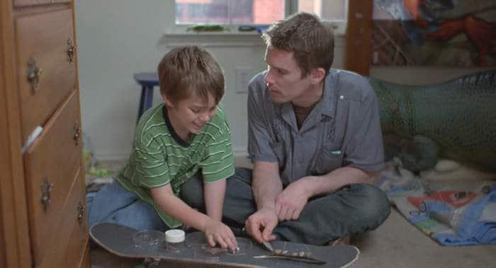 Mason and Dad.