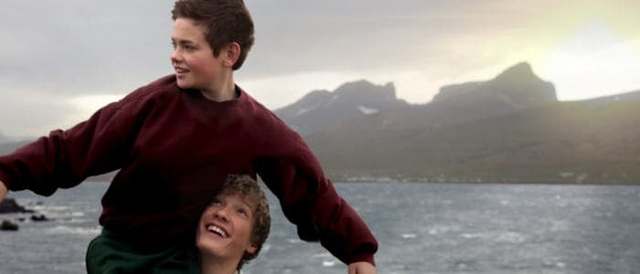 Friendship Thor (Baldur Einarsson) and Kristian (Blær Hinriksson)