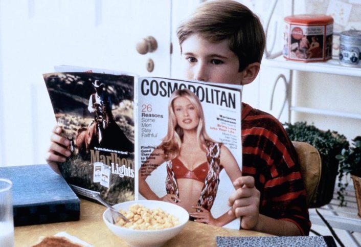 Frank (Michael Patrick Carter) is curious little boy