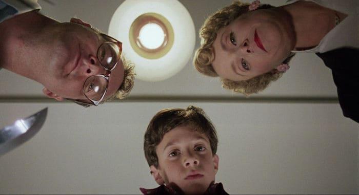 Dad Nick (Randy Quaid), mom Lily (Mary Beth Hurt) and son Michael (Bryan Madorsky)