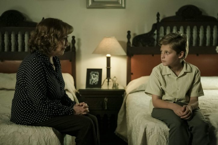 Andy ( Emilio Puente) and his grandmother ( Carmen Maura)
