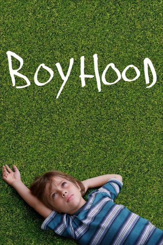"Poster for the movie ""Boyhood"""