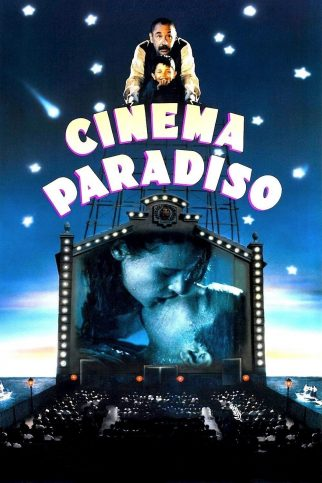 "Poster for the movie ""Cinema Paradiso"""