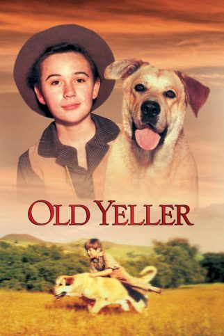 "Poster for the movie ""Old Yeller"""