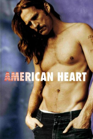 "Poster for the movie ""American Heart"""