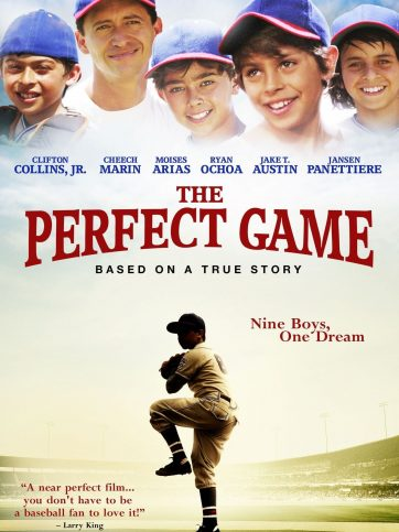 "Poster for the movie ""The Perfect Game"""