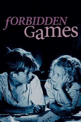 "Poster for the movie ""Forbidden Games"""