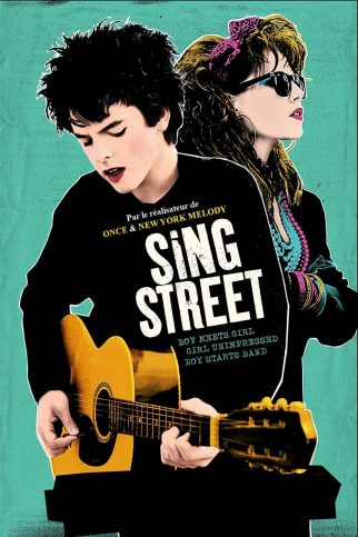 "Poster for the movie ""Sing Street"""