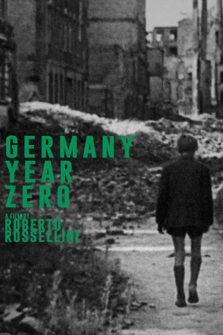 "Poster for the movie ""Germany Year Zero"""