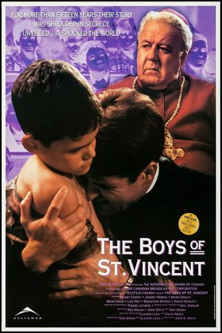 """Poster for the movie """"The Boys of St. Vincent"""""""
