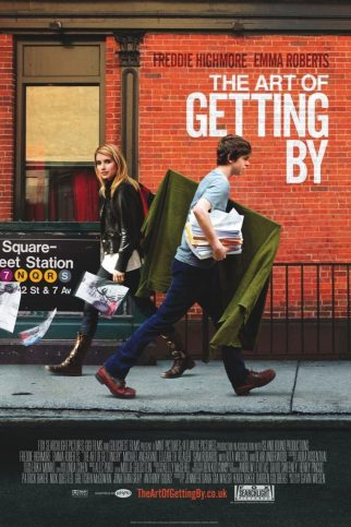 "Poster for the movie ""The Art of Getting By"""