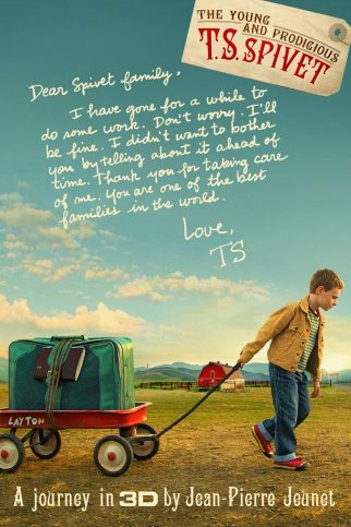 "Poster for the movie ""The Young and Prodigious T.S. Spivet"""