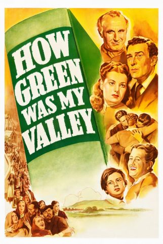 """Poster for the movie """"How Green Was My Valley"""""""