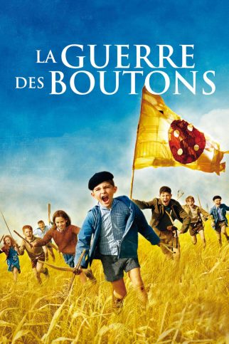 "Poster for the movie ""War of the Buttons"""