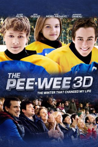 "Poster for the movie ""The Pee Wee 3D: The Winter That Changed My Life"""