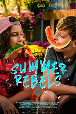 """Poster for the movie """"Summer Rebels"""""""