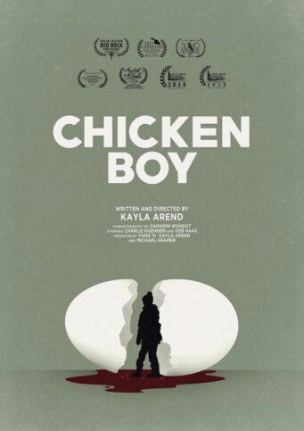 Chicken boy poster